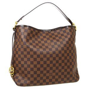 Auth  louis vuitton LIKE NEW delightful MM damier